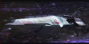 Star Wars Nebulon A Frigate by AdamKop