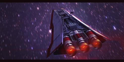 Star Wars Rebel Corvette 3D by AdamKop