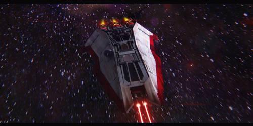 Star Wars Corellian Corvette by AdamKop