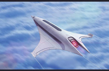 Scifi Luxury Liner by AdamKop