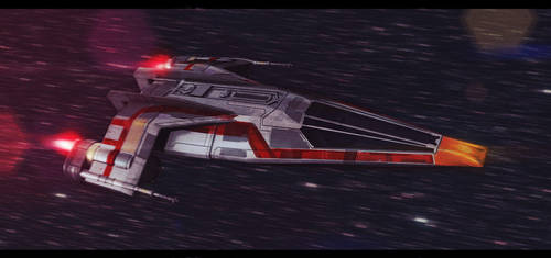 Star Wars Kuat Systems Engineering Fighter by AdamKop