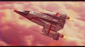 Flight Over Bespin by AdamKop