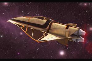 Sci Fi Luxury Liner by AdamKop