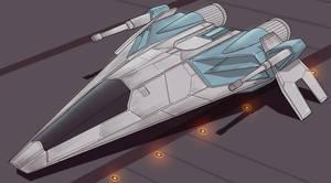 Star Wars Slayn/Korpil Fighter wip by AdamKop