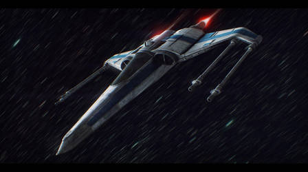 Star Wars Incom/Subpro X-12 Commission by AdamKop