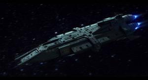NSS Primus Battleship Commission by AdamKop