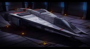 Star Wars Incom LA-01 Speeder by AdamKop