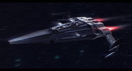 Star Wars 'Dark Lady' 3D Commission by AdamKop