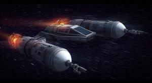 Star Wars Koensayr Manufacturing Fighter by AdamKop