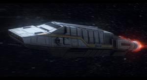 Star Wars EVO Troopers Shuttle by AdamKop