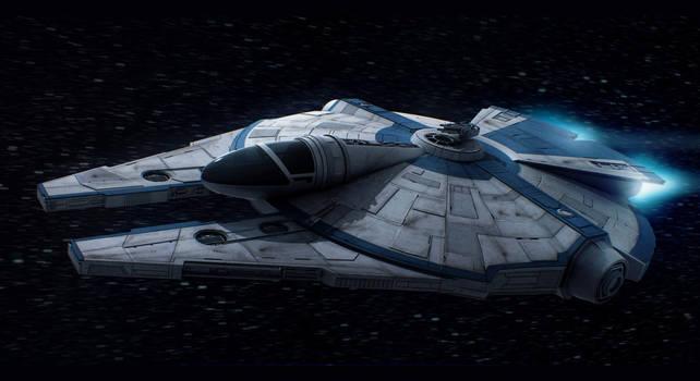 Star Wars Custom Corellian Freighter (DLC) by AdamKop
