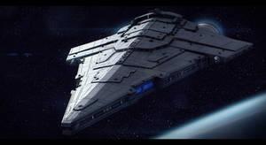 Imperial Star Destroyer War Galleon by AdamKop