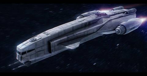 Star Wars YV-260 Light Freighter by AdamKop