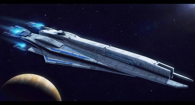 Mass Effect SSV Busan by AdamKop
