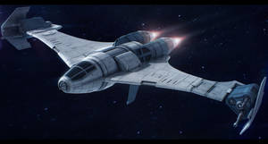 Star Wars Slayn and Korpil K-80 Swivel Starfighter by AdamKop