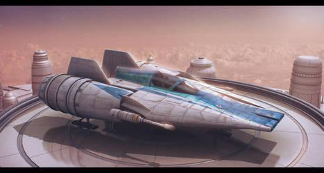 Star Wars Incom RZ-1 Mark III A-Wing Advanced by AdamKop