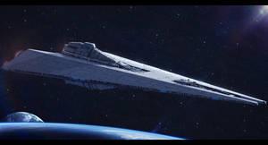 Star Wars Fondor Shipyards Dreadnought by AdamKop