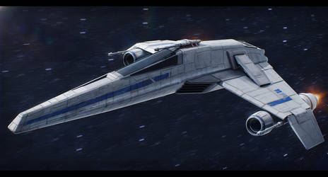 Star Wars E-Wing by AdamKop