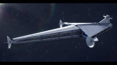 Star Wars Arrestor Cruiser by AdamKop