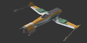 Star Wars Resistance - Kazuda's ship by AdamKop