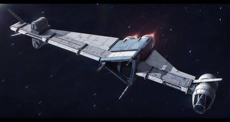 Star Wars Slayn and Korpil S-8 P-wing starfighter by AdamKop