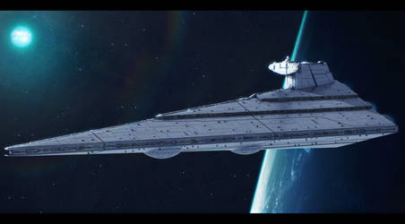 Star Wars KDY Allegiance-class heavy SD prototype by AdamKop