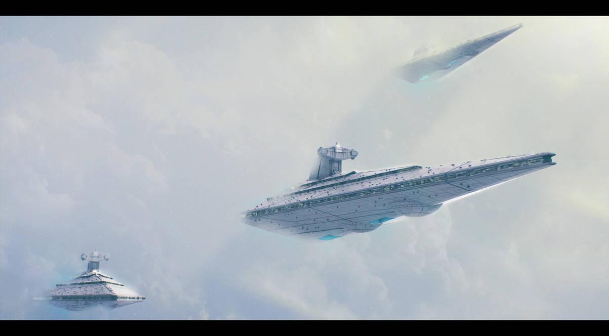 Star Wars KDY Allegiance-class heavy SD prototypes by AdamKop