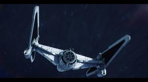 Star Wars Sienar Systems Engineering TIE/dt by AdamKop