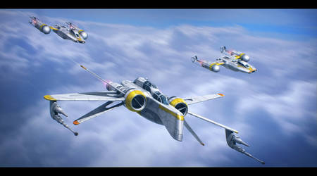 Star Wars - Distant Suns Squadron by AdamKop