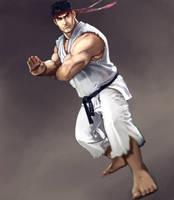 Ryu skecth by esandoval