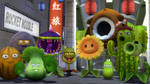 The Plants Army! (PvsZ) by xSakuyaChan510x