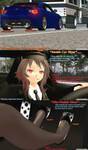 .: Driving Late To Work :. by xSakuyaChan510x