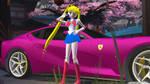 .: Sailor Moons Ferrari Portofino :. by xSakuyaChan510x