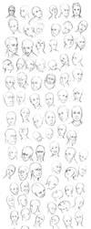 100 Faces by ChuuStar
