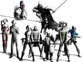Batman Arkham City by Spiderdude10