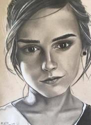 Emma Watson by SKM-art