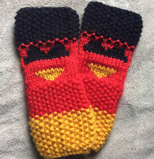 Germany Mitts by FoulFaulFowl