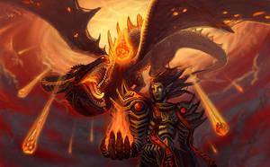 Black Dragon Prince by Athena-Erocith