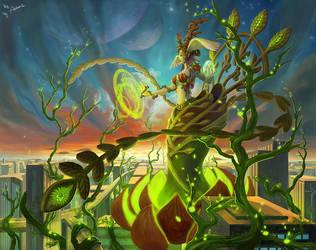 Elunxia--Goddess of Nature by Athena-Erocith