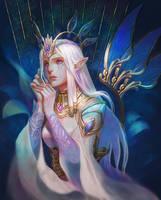 Elven Maiden by Athena-Erocith