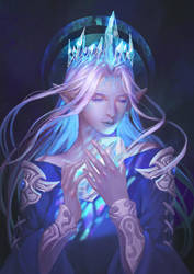 [FFXIV]Lady Iceheart by Athena-Erocith