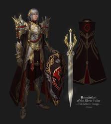 Haurchefant Full Armour Design by Athena-Erocith