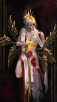[FFXIV]Seraphim Haurchefant[Heavenly Bodies] by Athena-Erocith