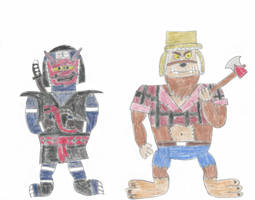 Roadranger Monsters 9 by TUFFAgentShepherd