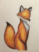 Patient Foxy by holeyhippiegeek