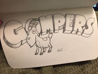Gompers the Goat by holeyhippiegeek