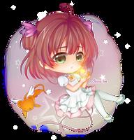 Sakura, Kero by Shiro-tae