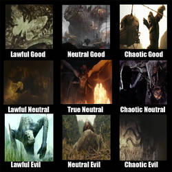 Monsterverse Alignment Chart by KaijuAlpha1point0