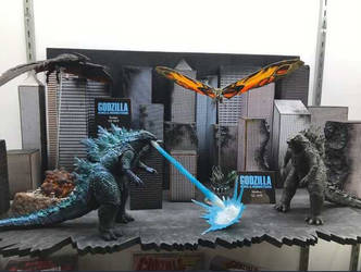 Neca Godzilla: King of the Monsters 2019 figures by KaijuAlpha1point0