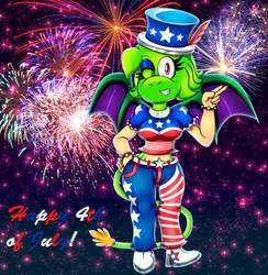 Happy 4th of July -2018- by spdy4